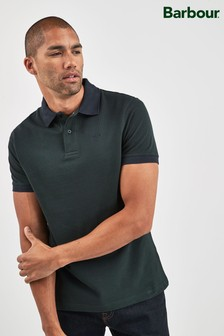 Barbour® Green Sports Polo Mix