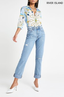 River Island Mona Mom Jean