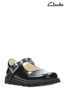 Clarks Black Crown Jump T Shoe