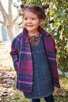 Wool Check Coat (3mths-7yrs)