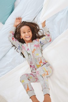 Multi Animal Print All-In-One (3-16yrs)