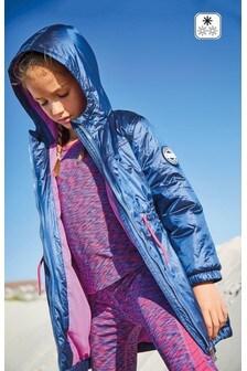 Блестящая куртка-парка (3-16 лет)
