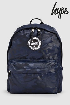 Hype. Navy Tonal Camo Backpack