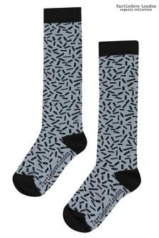 Turtledove London Blue Sprinkles Socks