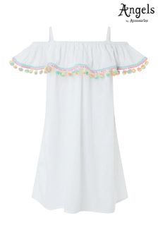 Angels By Accessorize Palermo Pom Pom Dress