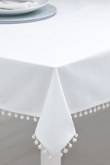 Pom Pom Tablecloth