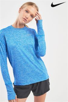 Nike Element Blue Running Top