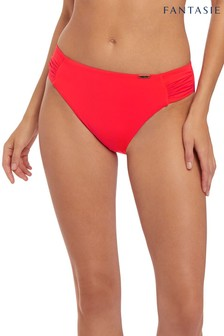 Fantasie Paradise Bay Orange Mid Rise Bikini Briefs