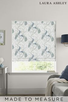 Laura Ashley Belvedere Midnight Made to Measure Roman Blind