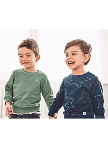 Star Crews Two Pack (3mths-6yrs)