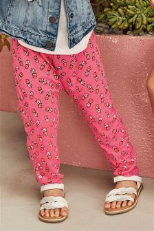 Floral Print Trousers (3mths-6yrs)