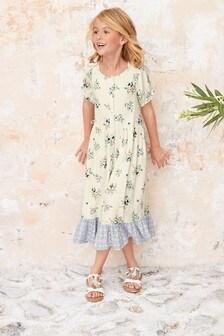 Prairie Style Maxi Dress (3-16yrs)