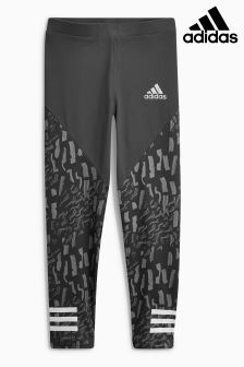 adidas Grey Print Tight