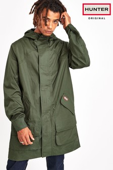 Hunter Mens Olive Original Cotton Hunting Coat