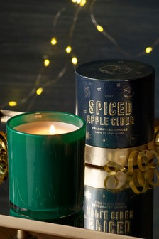 Spiced Apple Cider Boxed Candle