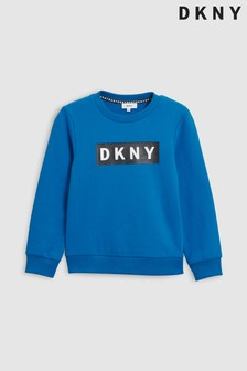 DKNY Logo Crew Neck Sweater