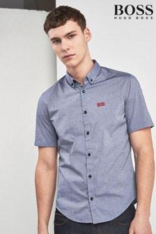 BOSS Biadia Logo Short Sleeve Shirt