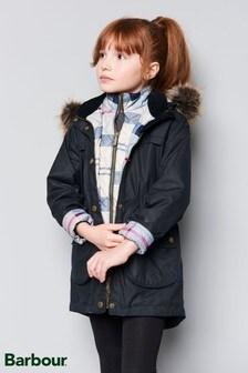 Barbour® Dartford Navy Wax Jacket
