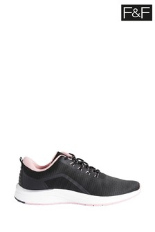 F&F Black Trainers