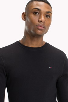 Tommy Jeans Original Rib Long Sleeve T-Shirt