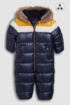 Colourblock Snowsuit (3mths-6yrs)