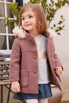 Wool Blend Duffle Coat (3mths-7yrs)