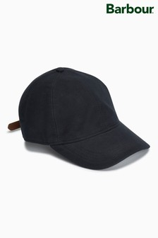 Barbour® Navy Moleskin Sports Cap