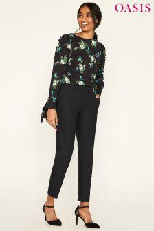 Oasis Camila Split Detail Suit Trouser