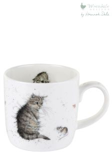 Wrendale Cat And Mouse Mug
