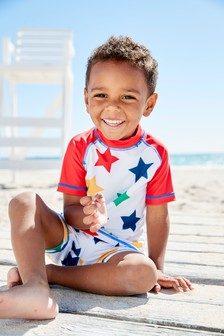 Star Sunsafe Two Piece Set (3mths-6yrs)