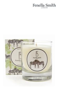 Fenella Smith Zebra And Palm Candle