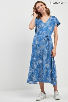 GANT Printed Midi Dress