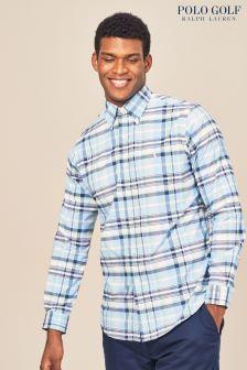 Ralph Lauren Polo Golf Kariertes Hemd, pink/blau