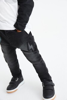 Badge Jeans (3mths-7yrs)