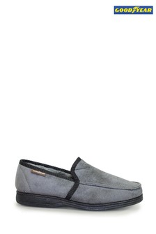 Goodyear Eden Grey Mens Slippers