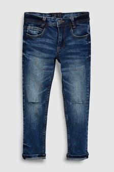 Skinny-Jeans mit Knie-Rissen (3-16yrs)