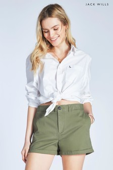 Jack Wills Homefore Classic Hemd, Weiß