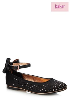 67bcd2f32e299f baker by Ted Baker Black Occasion Pump