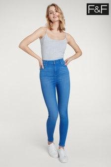 F&F Blue Contour Jean