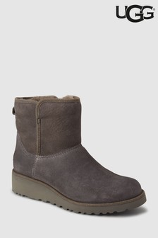 UGG® Grey Kristin Wedge Mini Boot