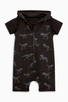 Dino Printed All-In-One With T-Shirt (3mths-6yrs)