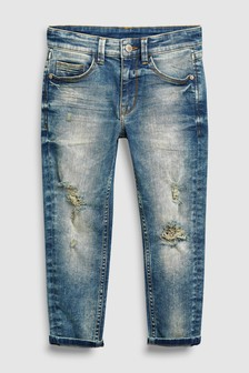 Distressed Carrot Fit Jeans (3-16yrs)