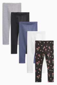 Lily Rose Leggings Five Pack (3-16yrs)