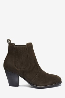Forever Comfort® Western Ankle Boots