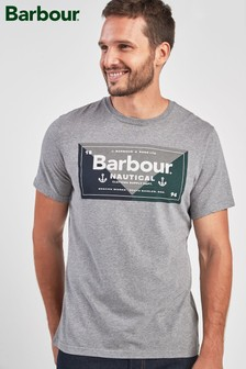 Barbour® Grey Flag T-Shirt