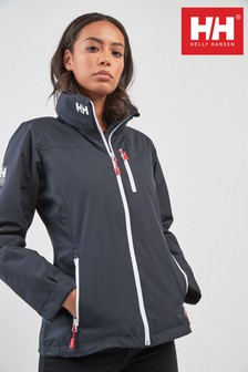 Helly Hansen Navy Crew Midlayer Jacket