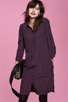 f609c883f0b Women s Dresses Purple Shirt Dress Shirtdress