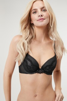 Cara Push-Up Plunge Bra