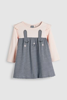 Bunny Face Dress (3mths-6yrs)