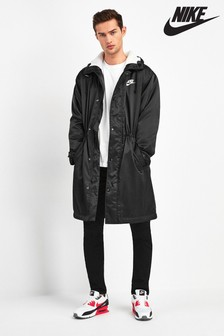 Nike NSW Black Parka